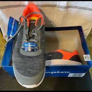 Grey/Orange Champion Memory Foam